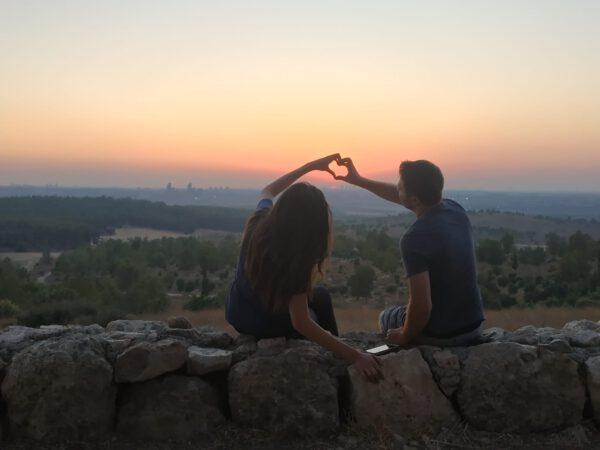 מסלול רומנטי - טיולי RZR לזוגות